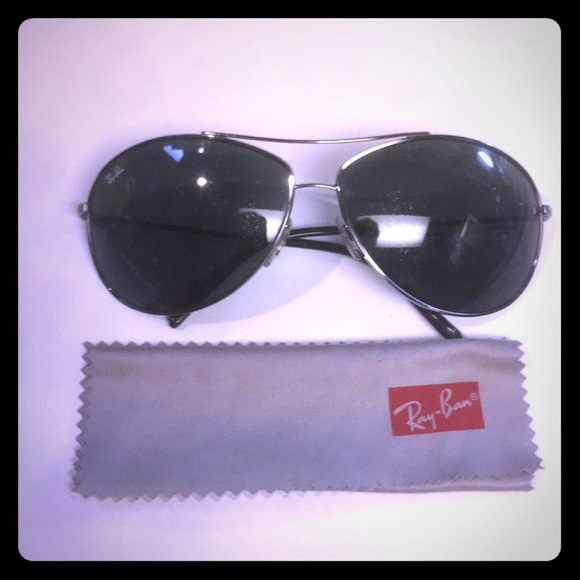 2e931a614ef Authentic Ray-Ban UNISEX silver aviator wire rims